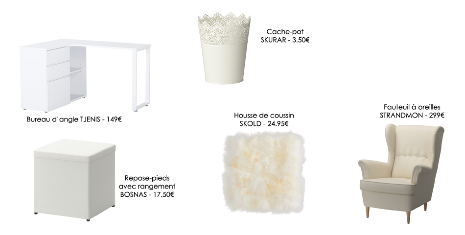 Ikea bureau d angle for Bureau d angle blanc ikea